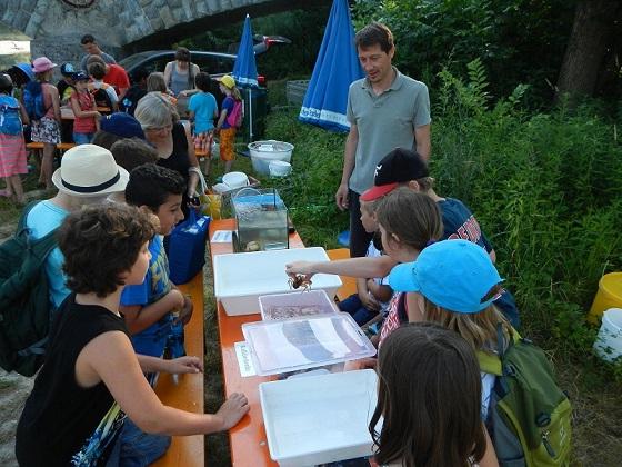 mit allen Sinnen lernen - Fischer machen Schule