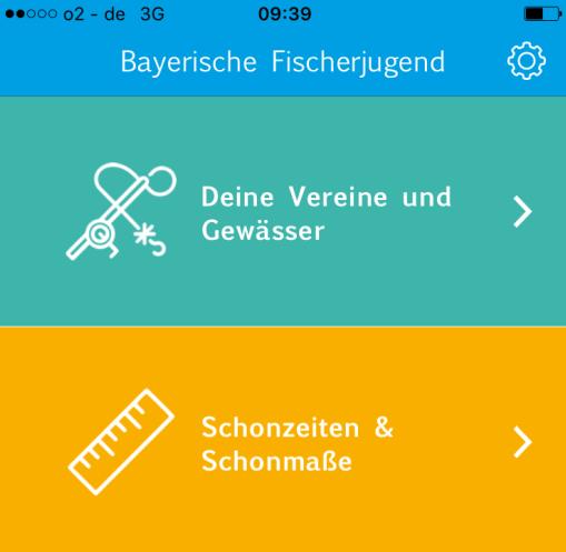 Fischerjugend App - Schonzeiten und Fangbuch Bayern