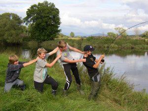 Aktivitäten Jugendgruppe Angeln